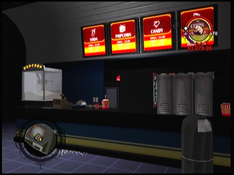 Max Visions snack counter in Saints Row
