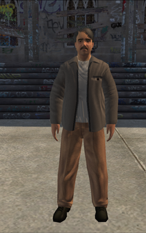 MiddleAge male 02 - hispanic - character model in Saints Row