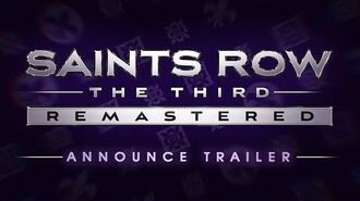 Saints Row® TheThird™ - Remastered Announce Trailer PEGI