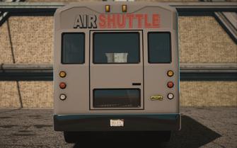 Saints Row IV variants - DonoVan Airport - rear