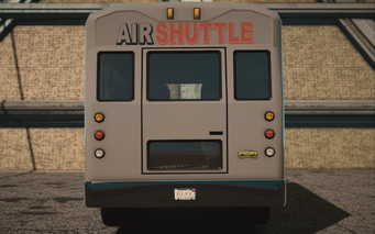 Saints Row IV variants - DonoVan Airport - rear