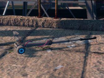 Shock Hammer in game on ground
