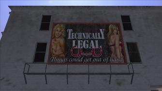 Technically Legal - billboard