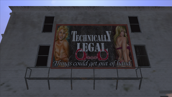 Technically Legal - billboard