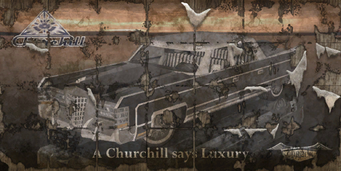 Churchill - Saints Row 2 billboard