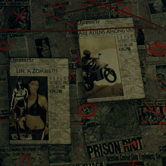 Kinzie's Warehouse - Lin newspaper