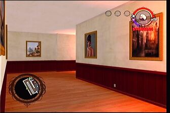 Raykins Hotel - rear hallway