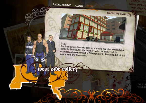 Saints Row promo website - Westside Rollers Turf