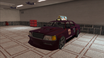 Saints Row variants - Taxi - TNA B - front left