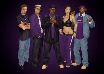 3rd Street Saints Promo with Troy, Gat, Julius, Lin, Dex