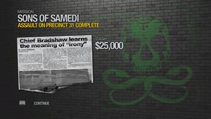 Assault on Precinct 31 - complete 25000 cash