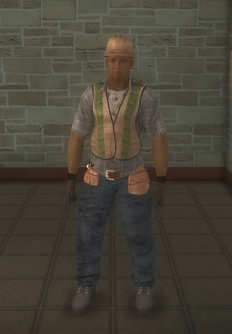 Construction - black construction - character model in Saints Row 2