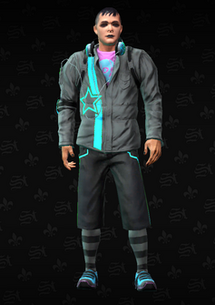 Deckers Soldier 3 - Archie - character model in Saints Row The Third