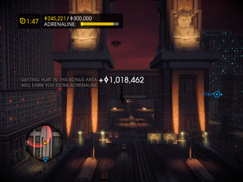 Fraud in Saints Row IV - bonus area