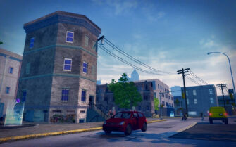 Prawn Court in Saints Row 2 - Red Light Loft