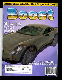 Raycaster - Chop Shop magazine