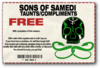 Taunts and Compliments - Sons of Samedi unlocked