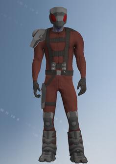 Zin - alien soldier b - character model in Saints Row IV