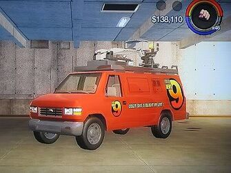 Anchor - News 9 - front left in Saints Row 2