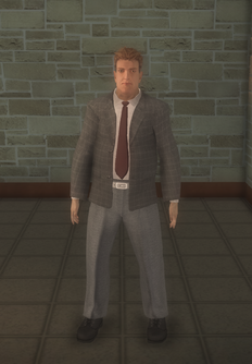 Business male - white - character model in Saints Row 2