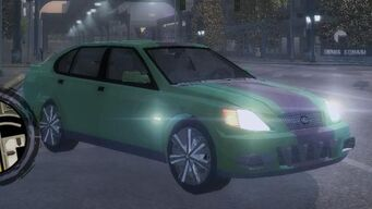 Eiswolf - front right with lights in Saints Row 2