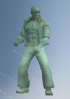 Joe statue without Ladle weapon - character model in Saints Row IV