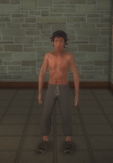 Junky - shirtless - character model in Saints Row 2
