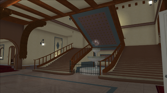 Lopez Mansion in Saints Row - Stairs