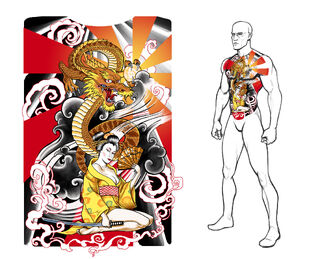 Ronin Tattoo Concept Art