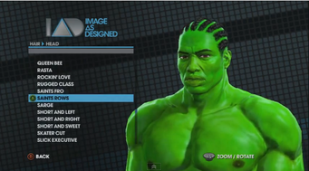 Saints Row The Third Player Customization promo - Hulk with Saints Rows