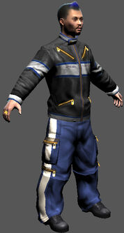 Saints Row character render - Donnie's body