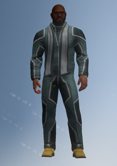 Ben King - jumpsuit - character model in Saints Row IV