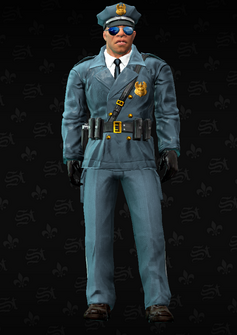 Cop - Mayweather - character model in Saints Row The Third