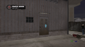 Crack Down - Cecil Park lab rear door