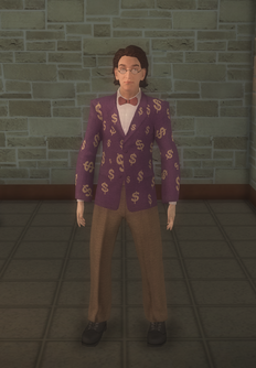 Crazy Salesman - character model in Saints Row 2