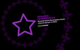 DLC unlock SRTT - Rewards Morningstar