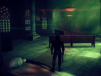 Saints Row Church - interior in Saints Row IV - main room