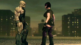 Saints Row IV Announce Teaser - alien before nutshot