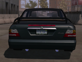 Socialite - rear in Saints Row