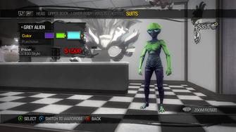 Suits - Grey Alien - recoloured green