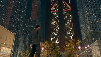 Syndicate Tower in Saints Row The Third