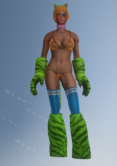 Angry Tiger - character model in Saints Row IV