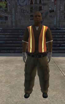 Garbageman - black2 - character model in Saints Row