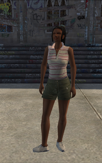 Generic black female - bl1 - character model in Saints Row
