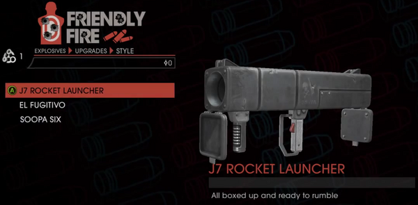 J7 Rocket Launcher Style upgrade - PAX gameplay video