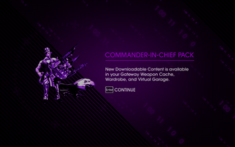 Saints Row IV DLC Unlock - Commander-in-Chief Pack