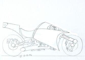 Shogo Akuji's Kaneda 4th sketch