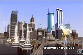 Stilwater - Saints Row 2 concept art - day