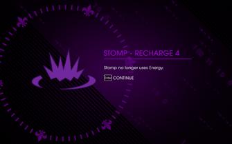 Stomp - Recharge 4 unlocked in Saints Row IV