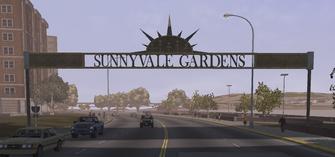 Sunnyvale Gardens arch